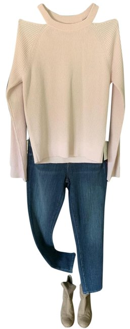 Item - Cashmere Faded Clear Pink Sweater