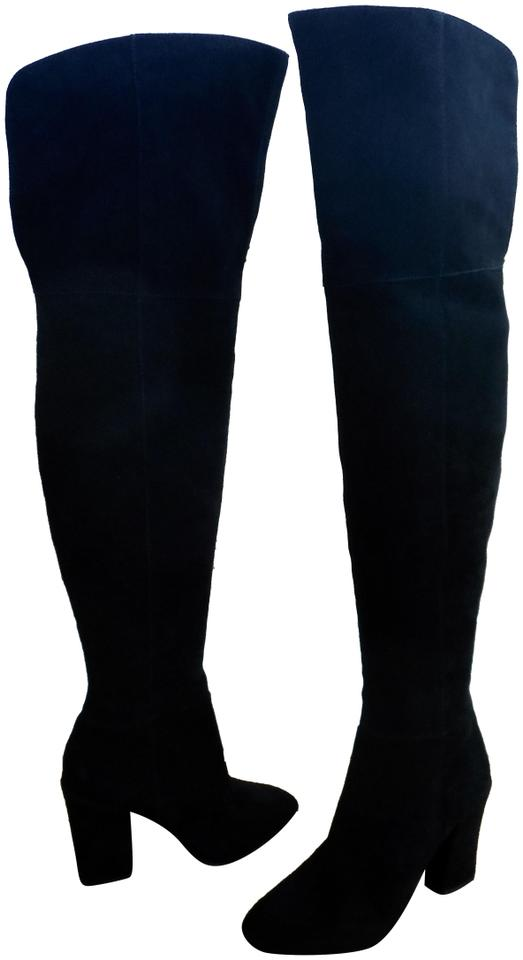 43d328f4664 Louise et Cie Over The Knee Over The Knee 5 5 Otn Vernon Black Boots Image  ...