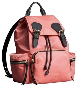 Burberry Rucksack Pink Leather Backpack