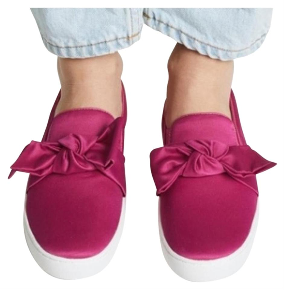 ca38f0924a5a4 Michael Kors Pink Fuschia Willa Slip Bow Sneakers Sneakers Size US 6 ...