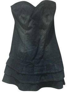 8f6d90e23ef40 VENUS short dress Blue Denim on Tradesy