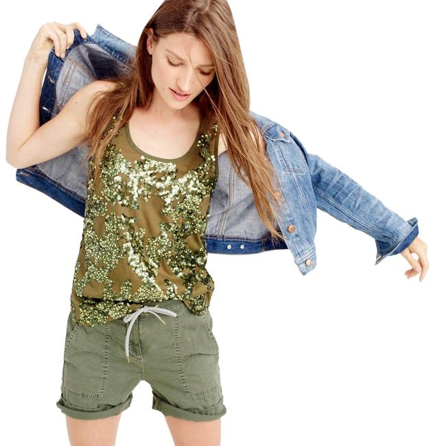 Item - Olive Green Iridescent Sequin Color Tank Top/Cami Size 0 (XS)