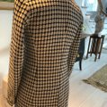 Ann Taylor Black/Off White Houndtooth Car Coat Size 2 (XS) Ann Taylor Black/Off White Houndtooth Car Coat Size 2 (XS) Image 5