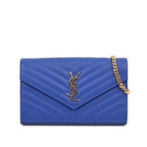 abd0cbe41150 Blue Saint Laurent Cross Body Bags - Up to 90% off at Tradesy