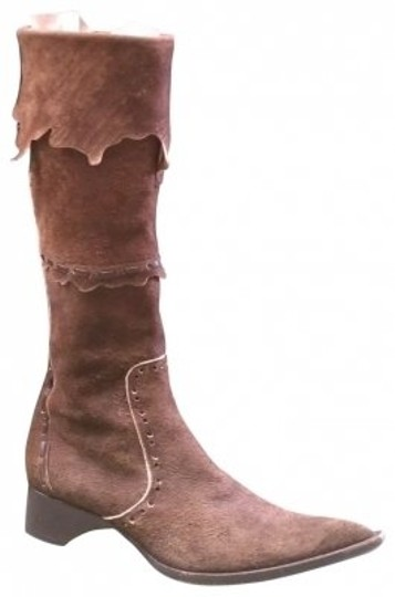 Preload https://item2.tradesy.com/images/paul-warmer-brown-raw-suede-cowboy-bootsbooties-size-us-7-regular-m-b-24856-0-0.jpg?width=440&height=440