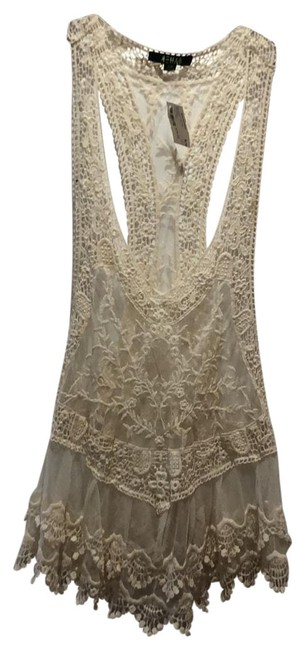 Item - Ivory Women Lace Cover-up/Sarong Size 6 (S)