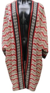 Chico's Duster Xl Plus-size Sheer Cardigan