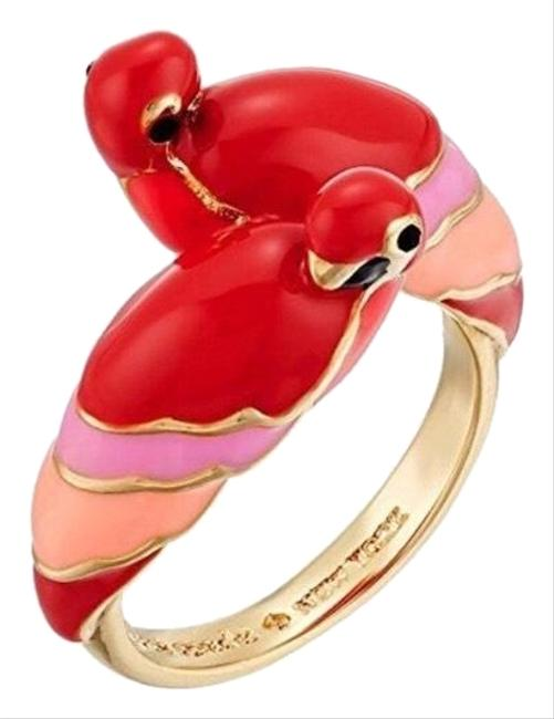 Item - Red/Pink • Out Of The Office Parrot Ring