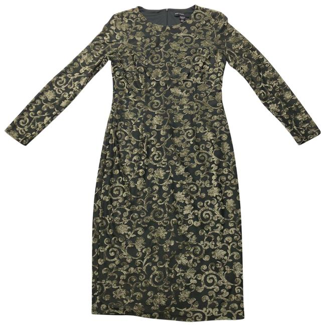 Item - Green Shift Mid-length Night Out Dress Size 8 (M)