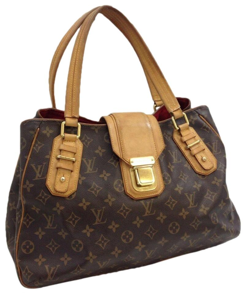 13d4d93887a Louis Vuitton Griet M55210 Monogram 11192 Brown Canvas Shoulder Bag