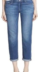 Paige Capri/Cropped Denim-Medium Wash