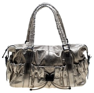 1fc7e93af575 Burberry Metallic Metallic Hardware Leather Shoulder Bag