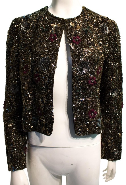 Item - Multi Beaded Jacket Size 8 (M)