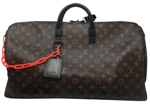 Louis Vuitton Virgil Abloh Virgil Keepall Keepall 50 Virgil Keepall 50 Limited Edition Monogram Travel Bag