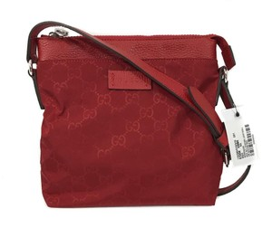 Gucci Bags Cross Body Bags Red Messenger Bag