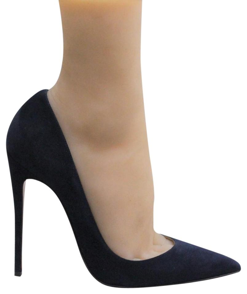 2455a0563b2 Blue So Kate Navy Suede Pumps