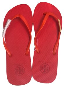 12b126dd4 Red Tory Burch Sandals - Up to 90% off at Tradesy