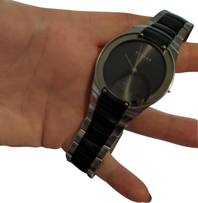 Item - Black and Silver Watch