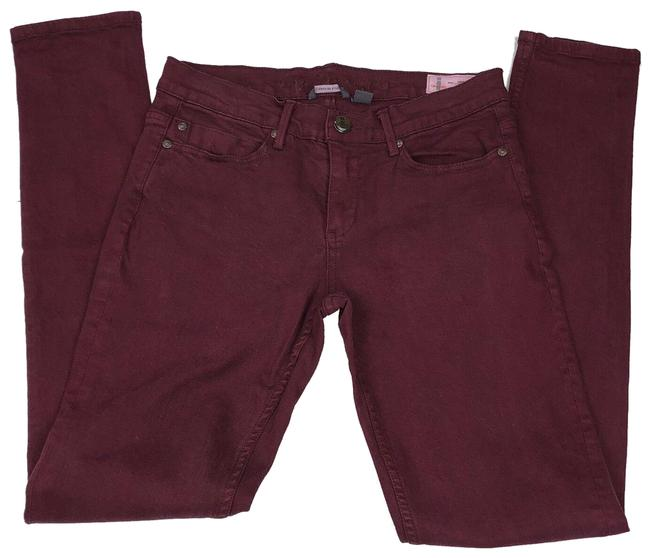Preload https://img-static.tradesy.com/item/24858485/burgundy-medium-wash-urbania-skinny-jeans-size-30-6-m-0-1-650-650.jpg