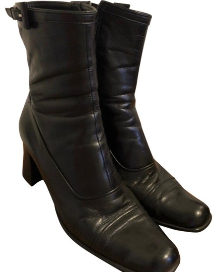 Preload https://img-static.tradesy.com/item/24858555/prada-black-leather-bootsbooties-size-us-10-regular-m-b-0-1-540-540.jpg