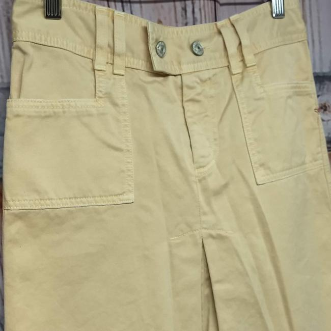 7 For All Mankind Skirt YELLOW Image 2