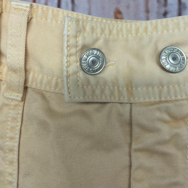7 For All Mankind Skirt YELLOW Image 3