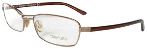 Tom Ford TOM FORD OPTICAL FRAMES GLASSES TF5024, GOLD RECTANGULAR SUNGLASSES