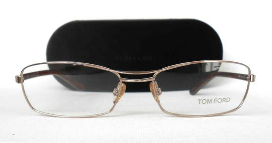 Tom Ford TOM FORD OPTICAL FRAMES GLASSES TF5024, GOLD RECTANGULAR SUNGLASSES Image 2