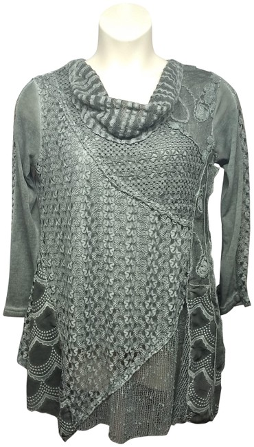 Simply Couture Top Gray Image 0