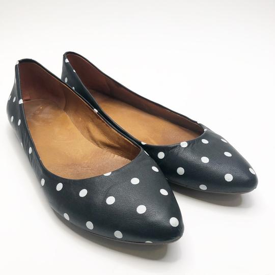 Madewell Black and White Flats Image 1