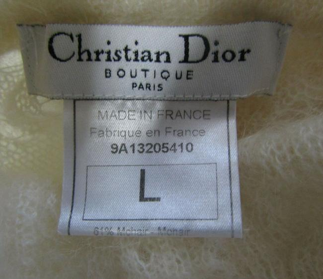 Dior Paris Mohair Wool Sweater Image 5