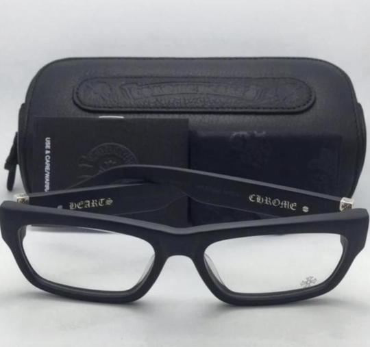 Chrome Hearts New CHROME HEARTS Eyeglasses INFLATABLE DATE BK Black Frame w/ Silver Image 1