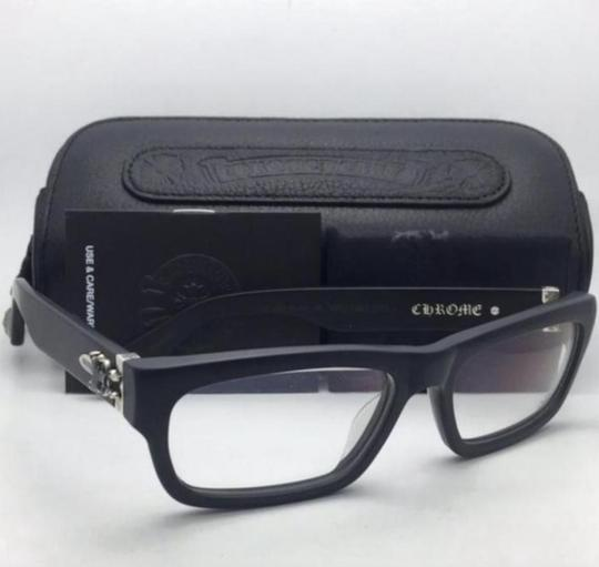 Chrome Hearts New CHROME HEARTS Eyeglasses INFLATABLE DATE BK Black Frame w/ Silver Image 2