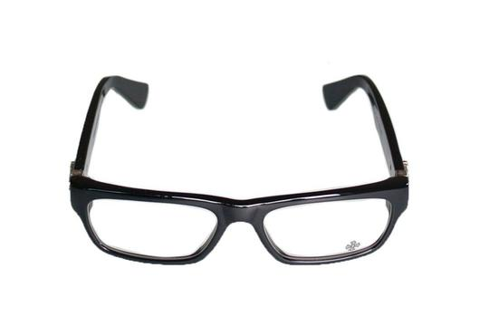 Chrome Hearts New CHROME HEARTS Eyeglasses INFLATABLE DATE BK Black Frame w/ Silver Image 6