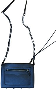 Rebecca Minkoff Matte Chain Zipper Cross Body Bag