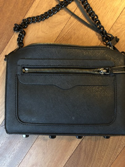 Rebecca Minkoff Matte Chain Zipper Cross Body Bag Image 3