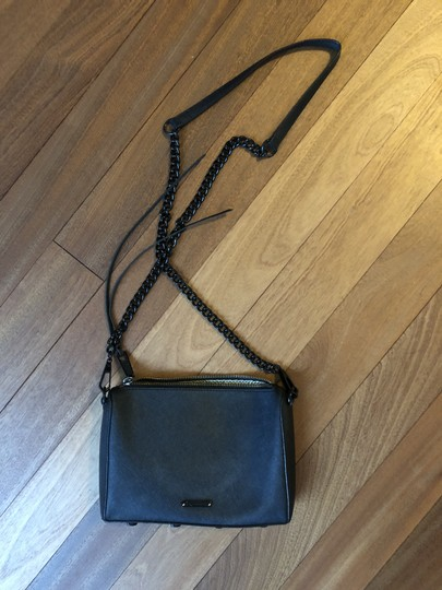 Rebecca Minkoff Matte Chain Zipper Cross Body Bag Image 5