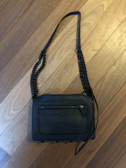 Rebecca Minkoff Matte Chain Zipper Cross Body Bag Image 7
