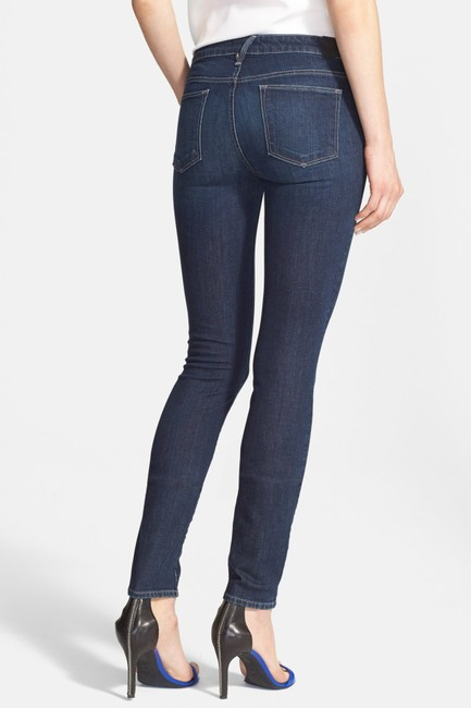 Vince Skinny Jeans-Medium Wash Image 1