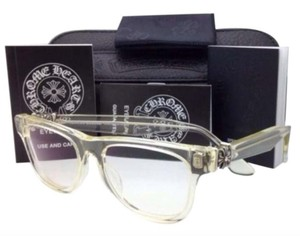 Chrome Hearts CHROME HEARTS Eyeglasses HARD WC Clear - Buff w/ Sterling Silver .925