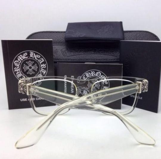 Chrome Hearts CHROME HEARTS Eyeglasses HARD WC Clear - Buff w/ Sterling Silver .925 Image 3