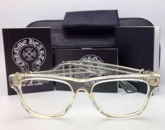 Chrome Hearts CHROME HEARTS Eyeglasses HARD WC Clear - Buff w/ Sterling Silver .925 Image 4