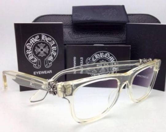 Chrome Hearts CHROME HEARTS Eyeglasses HARD WC Clear - Buff w/ Sterling Silver .925 Image 5