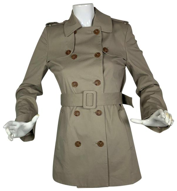 Preload https://img-static.tradesy.com/item/24858961/brooks-brothers-beige-cotton-double-breasted-belt-coat-size-4-s-0-1-650-650.jpg