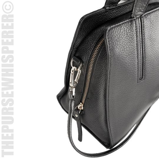 Kate Spade Grey St Dominique Leather Wkru3169 Satchel in Black Image 1