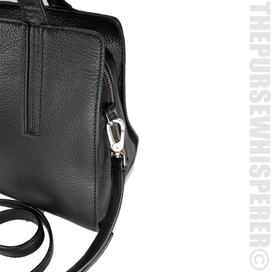 Kate Spade Grey St Dominique Leather Wkru3169 Satchel in Black Image 7