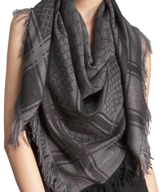 Item - Black and Silver 23456 Scarf/Wrap