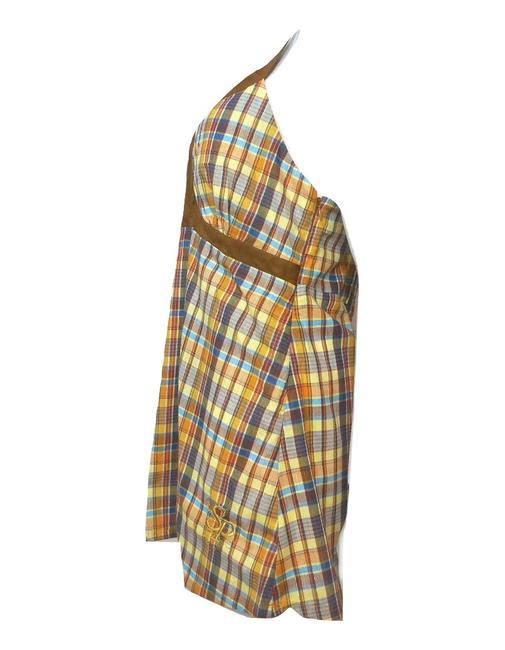 South Pole Collection Plaid Sleeveless Tunic Image 1