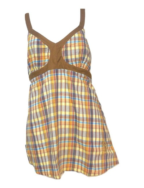 South Pole Collection Plaid Sleeveless Tunic Image 3