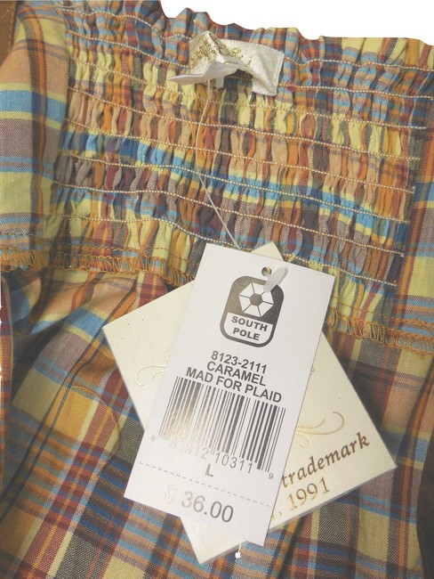 South Pole Collection Plaid Sleeveless Tunic Image 5